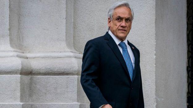Sebatián Piñera, presidente de Chile.