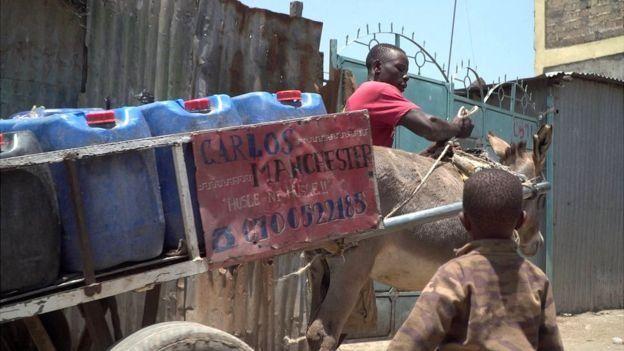 آنتونی و گالری حمل آب