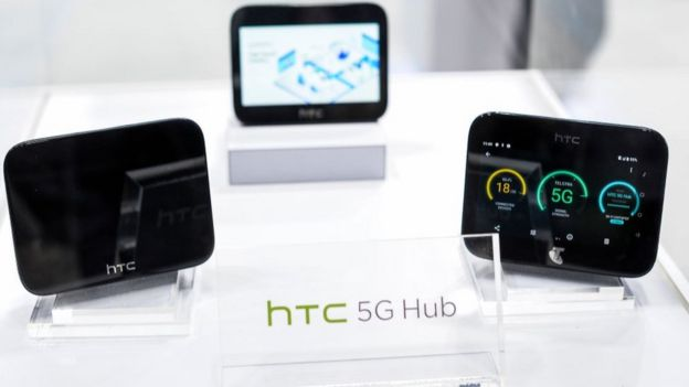 HTC recently launched a hub to provide high-speed connections to 5G networks
