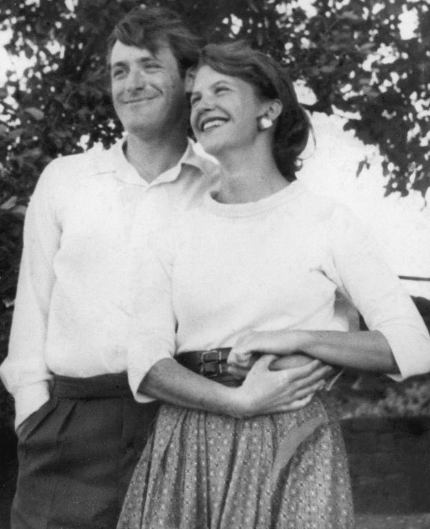 Plath ve İngiliz şair Ted Hughes