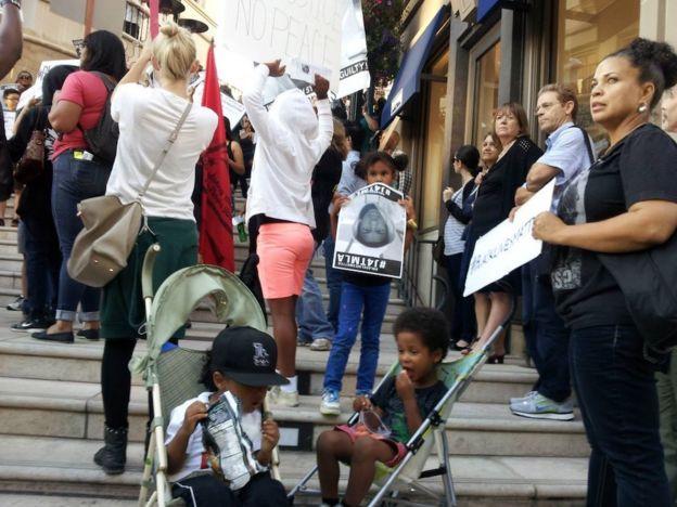 LA BLM protest