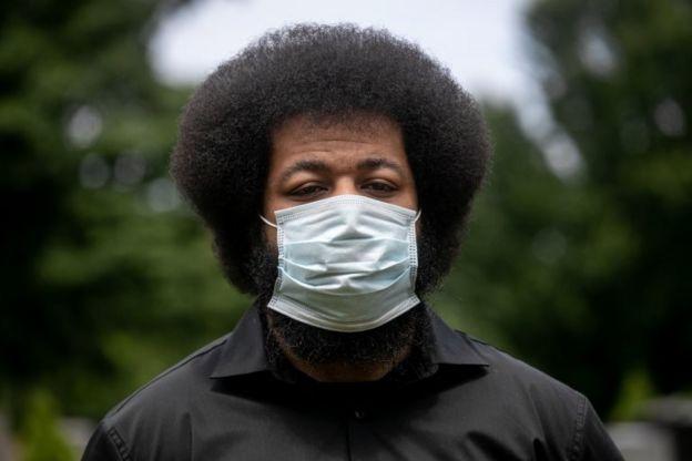 La pandemia también ha afectado desproporcionadamente a los afroestadounidenses.