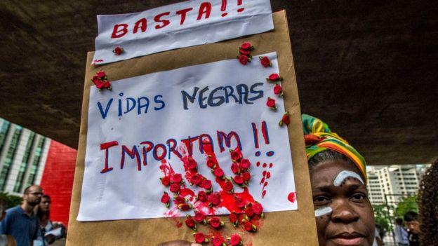 Protesta en Brasil