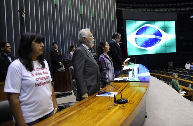 Evento sobre infanticídio indígena na Câmara