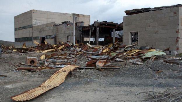 Edificio derruido