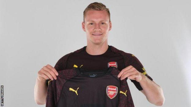 Mlindalango wa Arsenal Bernd Leno ni chaguo la kwanza la Buyern Munich