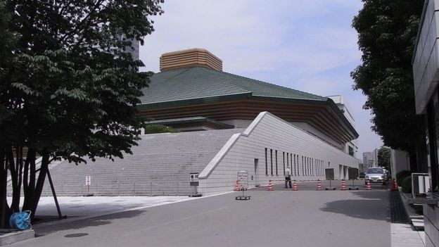 La arena de sumo Ryogoku Kokugikan