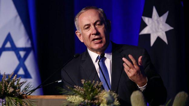 Israeli Prim Minister Benjamin Netanyahu