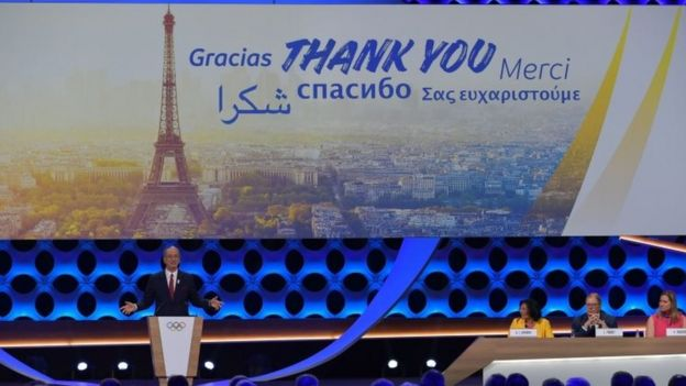 Paris presenta su candidatura