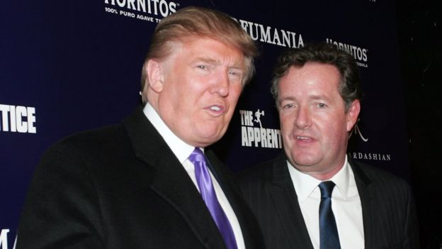 Trump e Morgan