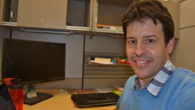 Gustavo Porpino na Universidade de Cornell