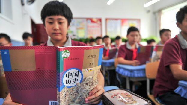 中國曾將歷史教材中的抗戰時間從8年改為14年