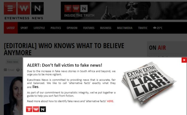 Fake news: How can African media deal with the problem? - BBC News