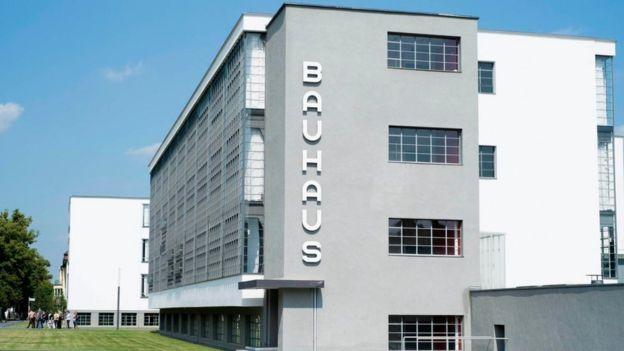 Prédio da Bauhaus na cidade alemã de Dessau