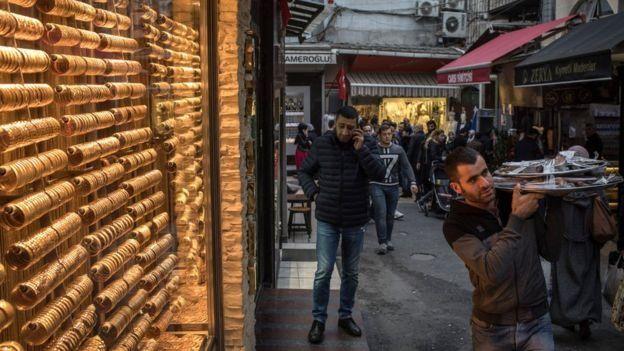 بازار طلا در ترکیه