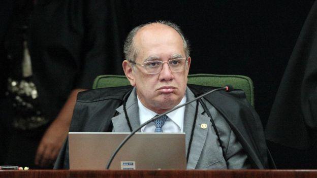 O ministro do Supremo Gilmar Mendes