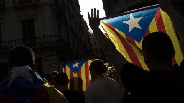 Katalan protestocular
