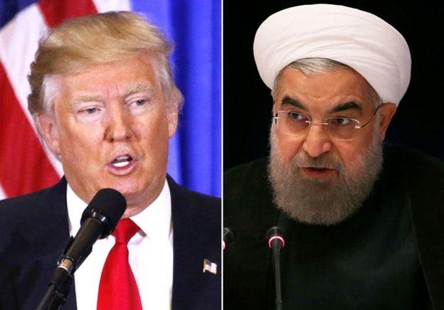 Donald Trump ve Hasan Ruhani