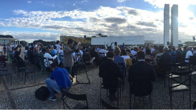 Cerimônia de encerramento de curso do RenovaBR em Brasília