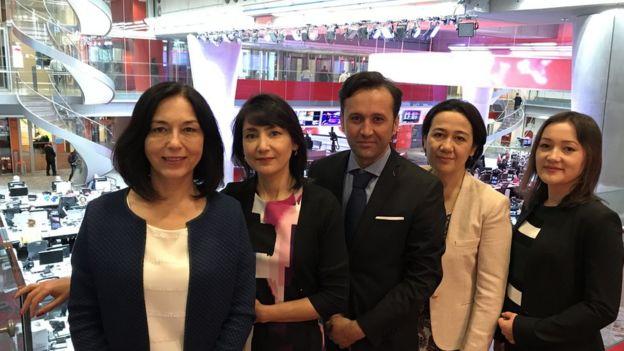 تیم تلویزیون ازبک برای افغانستان