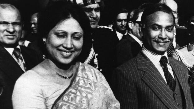 জিয়াউর রহমনা এবং খালেদা জিয়া।