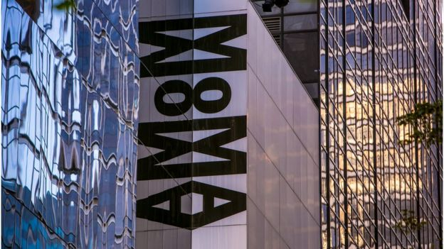 exteriores del Museo Moma de Nueva York