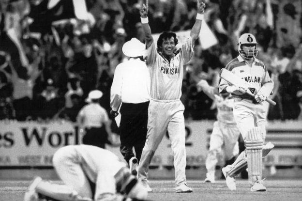 Imran Khan  From cricket hero to Pakistani PM - BBC News 46709ce33