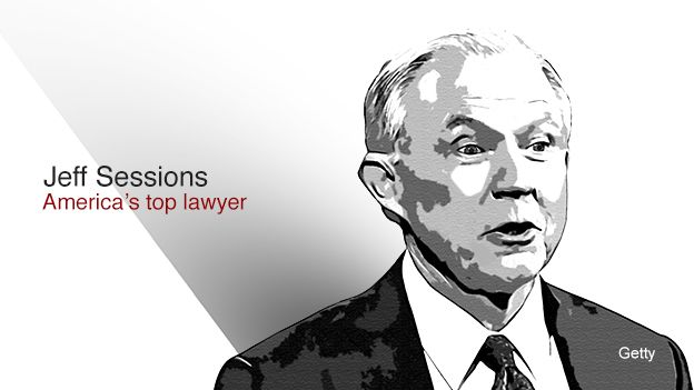 Jeff Sessions - America's top lawyer