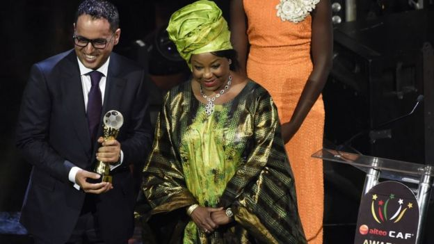 Ahmad Yahya y Fatma Samba Diouf Samoura