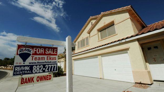 Una casa en venta.