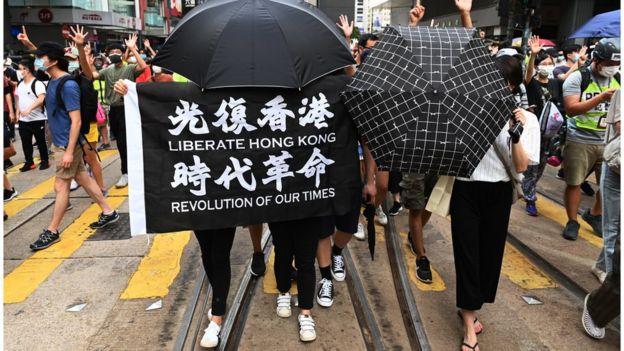 光复香港、时代革命
