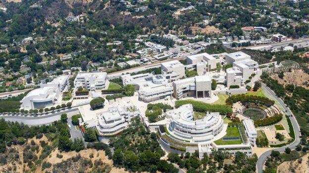 Vista aérea del museo.