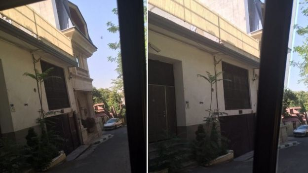 محل فعلی حصر مهدی کروبی در جماران تهران