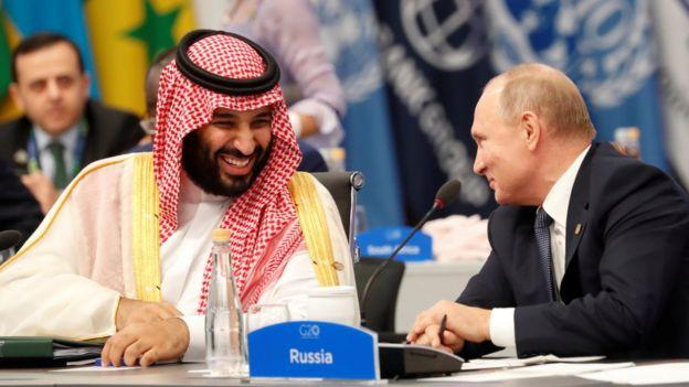 Путин и бин Салман
