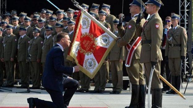 पोलैंड के राष्ट्रपति आंद्रेज़ डूडा