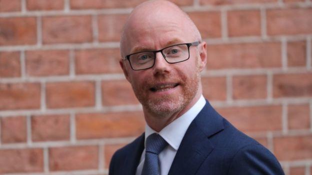 Irish Health Minister Stephen Donnelly