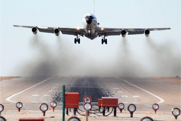 一架WC-135W不死凤凰