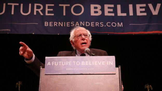 DSA, 2016'da Demokrat Parti'nin başkan adayının Bernie Sanders olması için kampanya yürütmüştü.