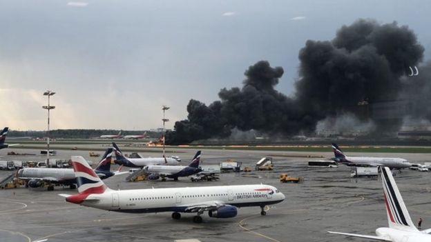 The plane Sheremetyevo