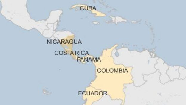 Nicaragua turns back Cuban migrants to Costa Rica  BBC News
