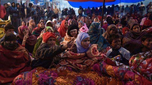 انڈین شہریت شاہین باغ مسلمان عورتیں دھرنا