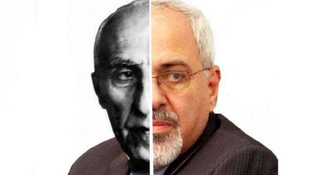 جواد ظریف و محمد مصدق