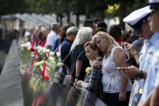 Dad u barooranaya kuwii ku dhintay weerraradii 9/11