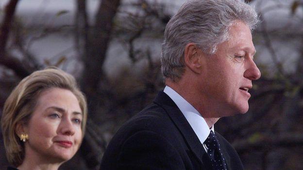 Bill y Hillary