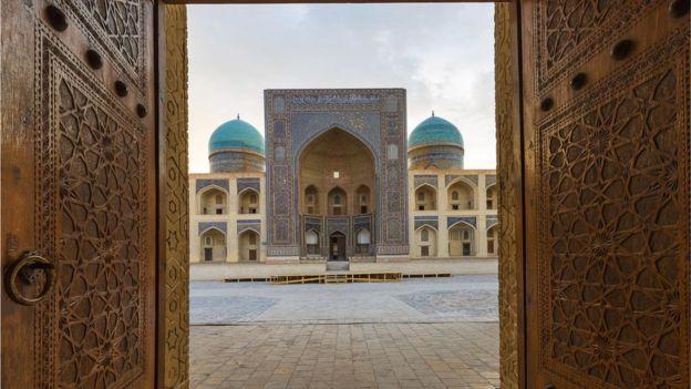 Mezquita en Uzbekistán