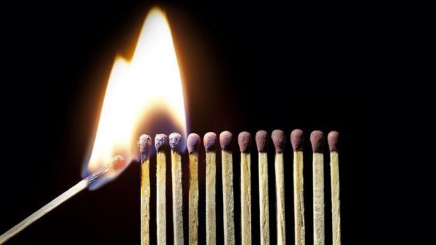 yanan kibritler