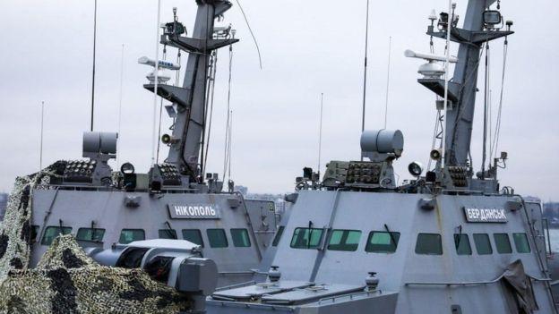 Захоплені у листопаді минулого року кораблі повернулися до України через рік