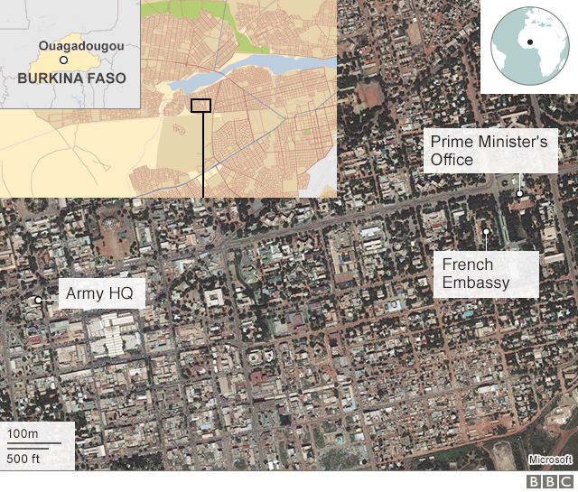 Burkina Faso attack French embassy targeted in Ouagadougou BBC News