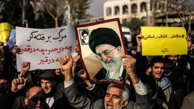 هواداران رهبر ایران