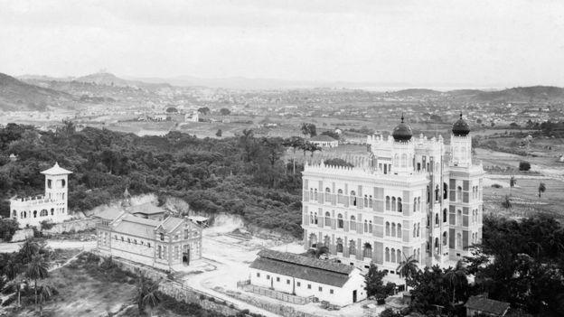 Castelo de Manguinhos e arredores da Fiocruz